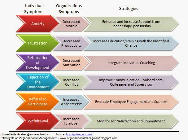 """strategies in change management Change management is an organized, systematic application of the knowledge, tools, and resources of change that provides organizations with a key process to achieve their business strategy """"pmi views change management as an essential capability that cascades across and throughout portfolio, program, and project management (pmi, 2013b)."""