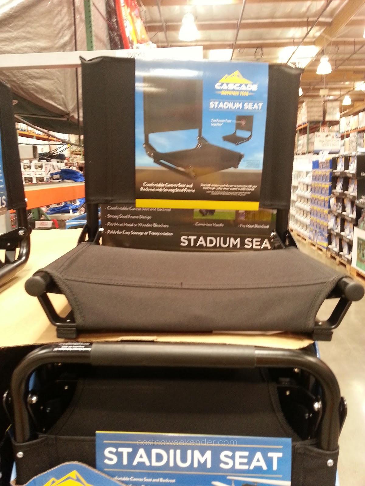 Cascade Mountain Tech Stadium Seat Costco Weekender