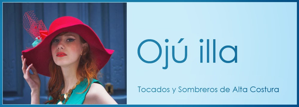 Ojú illa - el sitio donde comprar sombreros,  tocados y complementos de alta costura
