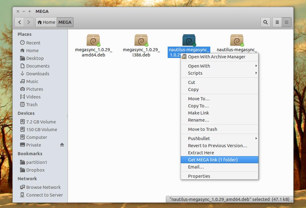 Download MEGAsync For Linux Desktops (MEGA co nz Linux Sync Client