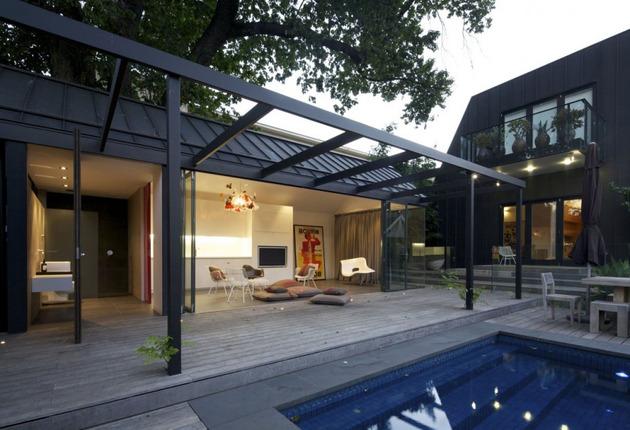 Rumah Mewah dengan Kolam Renang dan Dinding Kaca & Rumah Mewah dengan Kolam Renang dan Dinding Kaca | Desain Rumah ...
