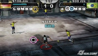 Fifa Street 2 Psp Play Station Portable Www.JuegosParaPlayStation.Com