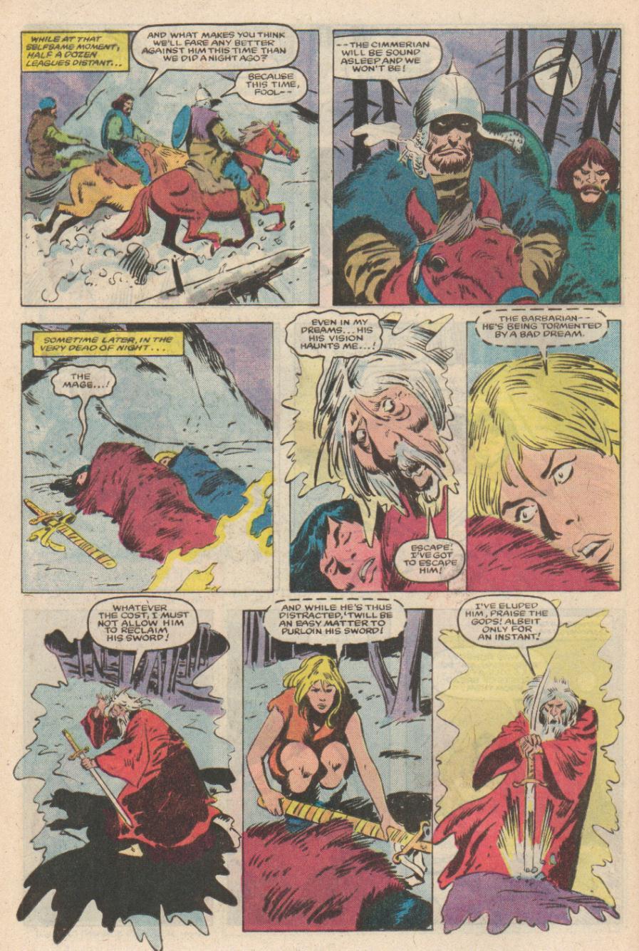 Conan the Barbarian (1970) Issue #169 #181 - English 11