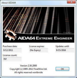 AIDA64 Extreme Engineer Edition v2.50.2000 Final MFShelf Software Free Download