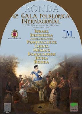 Ronda -  Feria de Pedro Romero 2015  - Gala folklórica