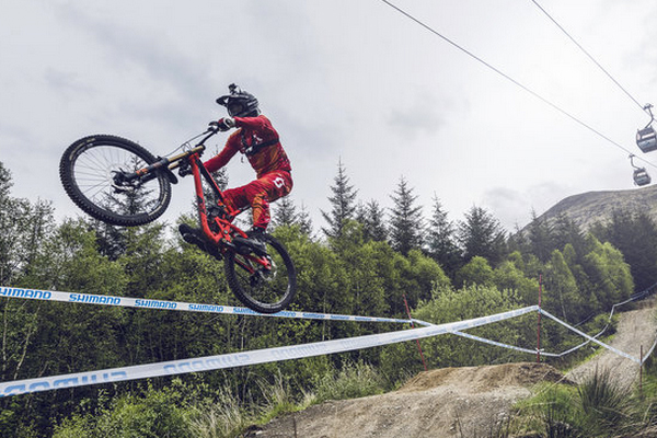2015 Fort William UCI World Cup Downhill: Claudio Caluori
