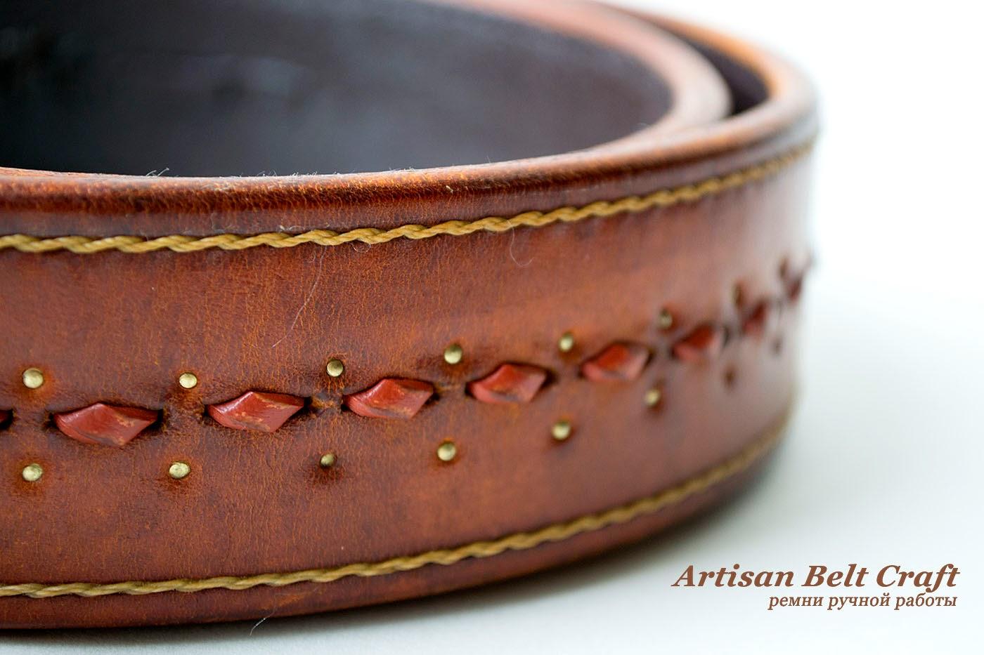 ремень от artisanbeltcraft