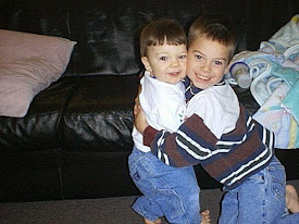 He always hugged on his baby brother