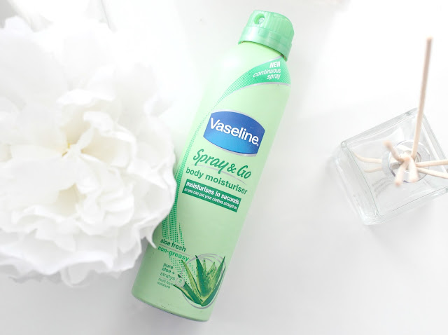 Vaseline Spray & Go Body Moisturiser Review, Vaseline Body Moisturiser, Vaseline Spray Moisturiser