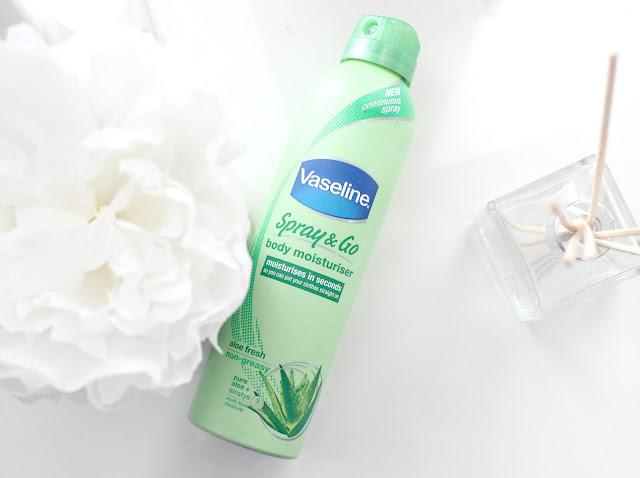 Vaseline Spray & Go Body Moisturiser Review, Vaseline Body Moisturiser, Vaseline Spray Moisturiser