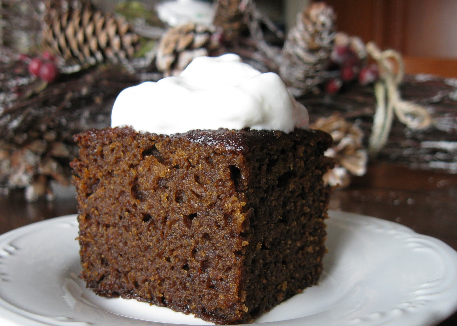 Baking Outside the Box: Old-fashioned Gingerbread
