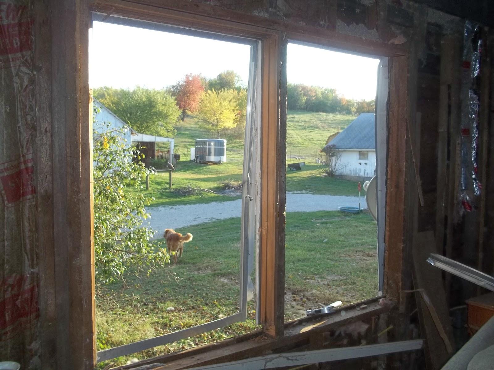 Farm Girl Vs Farm House Window Extravaganza Part 1
