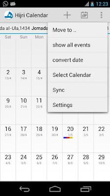 Hijri Calendar ( Android Apps )