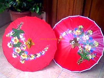 bahan penutup payung geulis tradisional