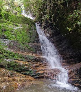 Cascadas de la Chorrera, cerca de Choachí.