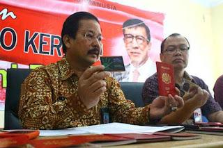 7 orang pria dan 7 orang wanita asal Malaysia dan Filipina ini di periksa intensif di kantor imigrasi kelas 1 khusus Medan Sumatera Utara