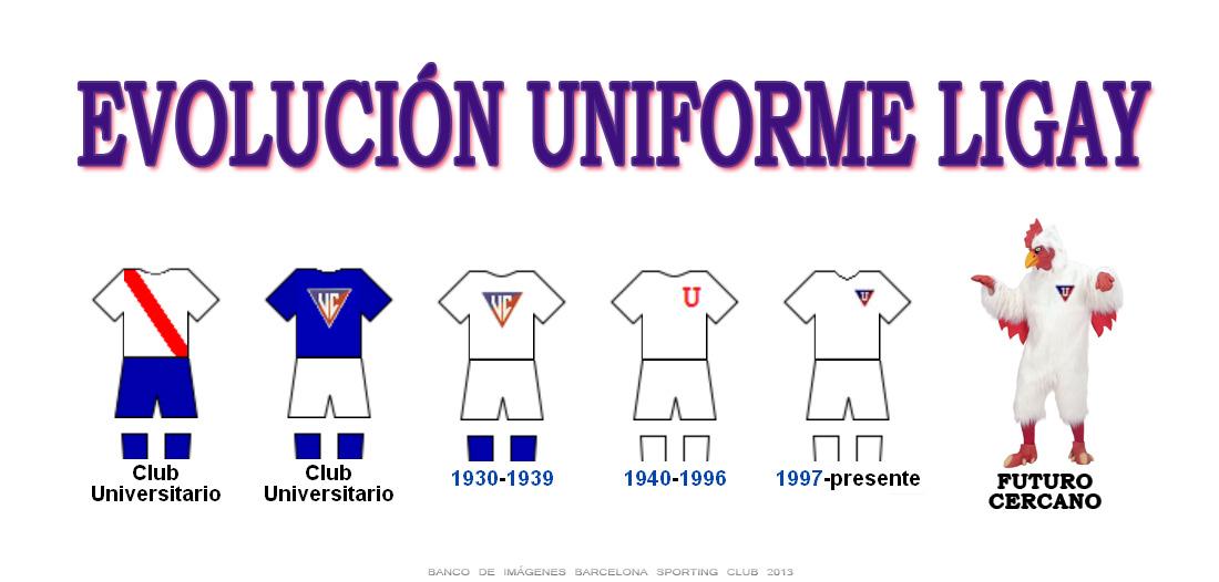 uniforme de liga deportiva universitaria de quito liga de quito ...