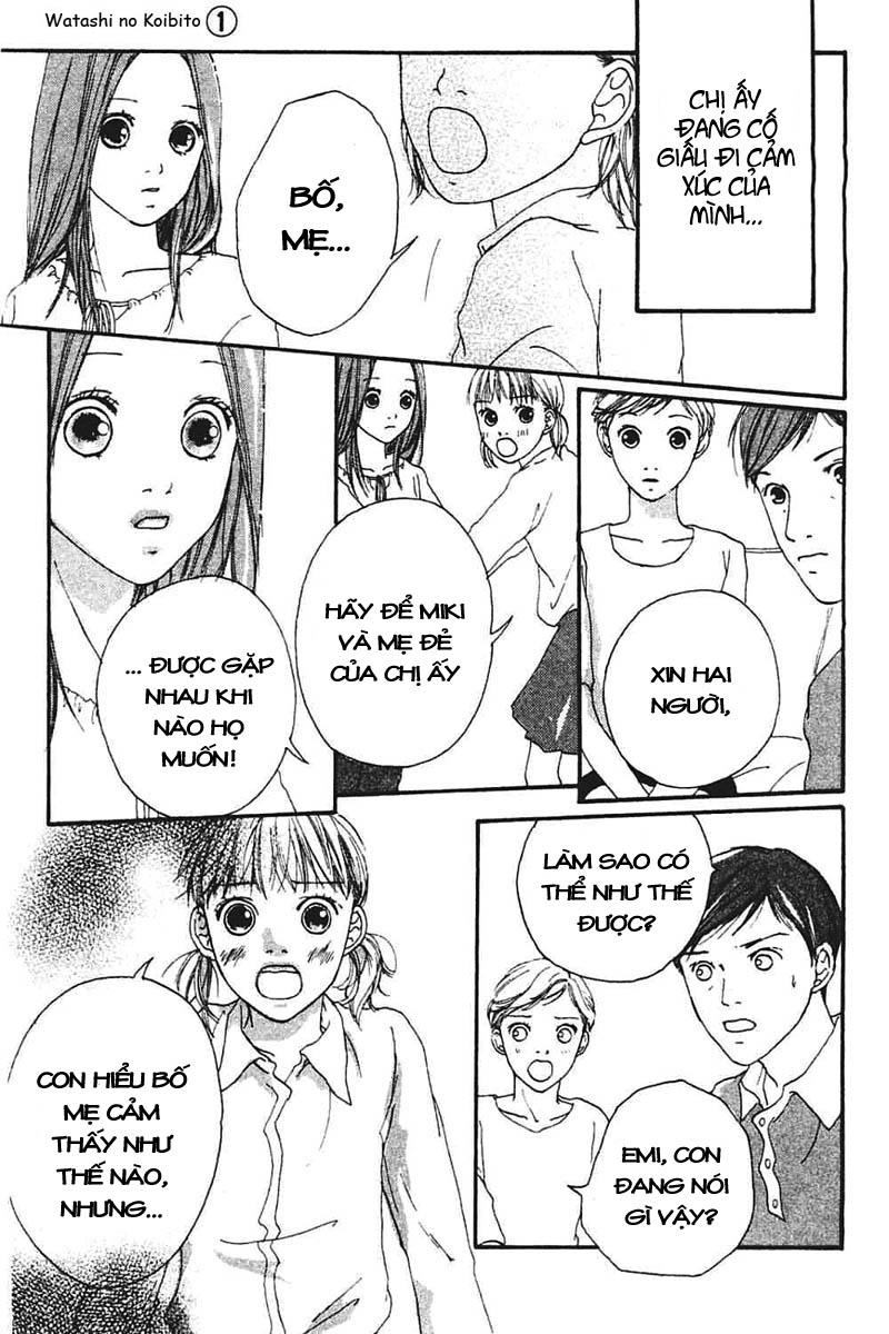Watashi no Koibito chap 4 - Trang 30