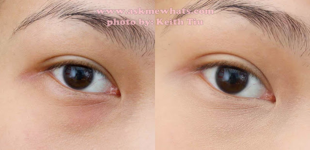 before and after photo of a photo of  Bobbi Brown Creamy Concealer Kit