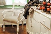 AM´s Fotvård, Kläder & Interiör i Varberg har inrett med mina möbler