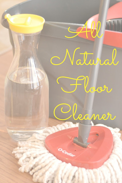 All Natural Floor Cleaner, Make your own floor cleaner, lemon floor cleaner, Chemical free floor cleaner, hardwood floor cleaner, EasyWring Spin Mop & Bucket System, O-Cedar Products, EasyWring Spin Mop