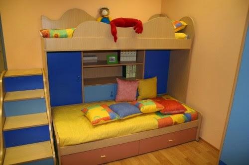 kids room loft bed