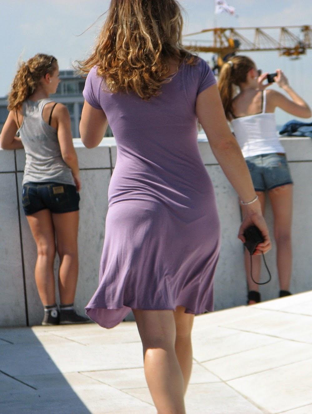 Otra Culona Caminando Por La Calle Voyeur Sabrosa: