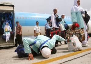 Haji Kloter 05 BDJ Mendarat Mulus