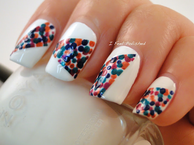 Easy Dot Nail Art