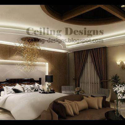 False ceiling designs collection 2 - Bedroom gypsum ceiling designs ...