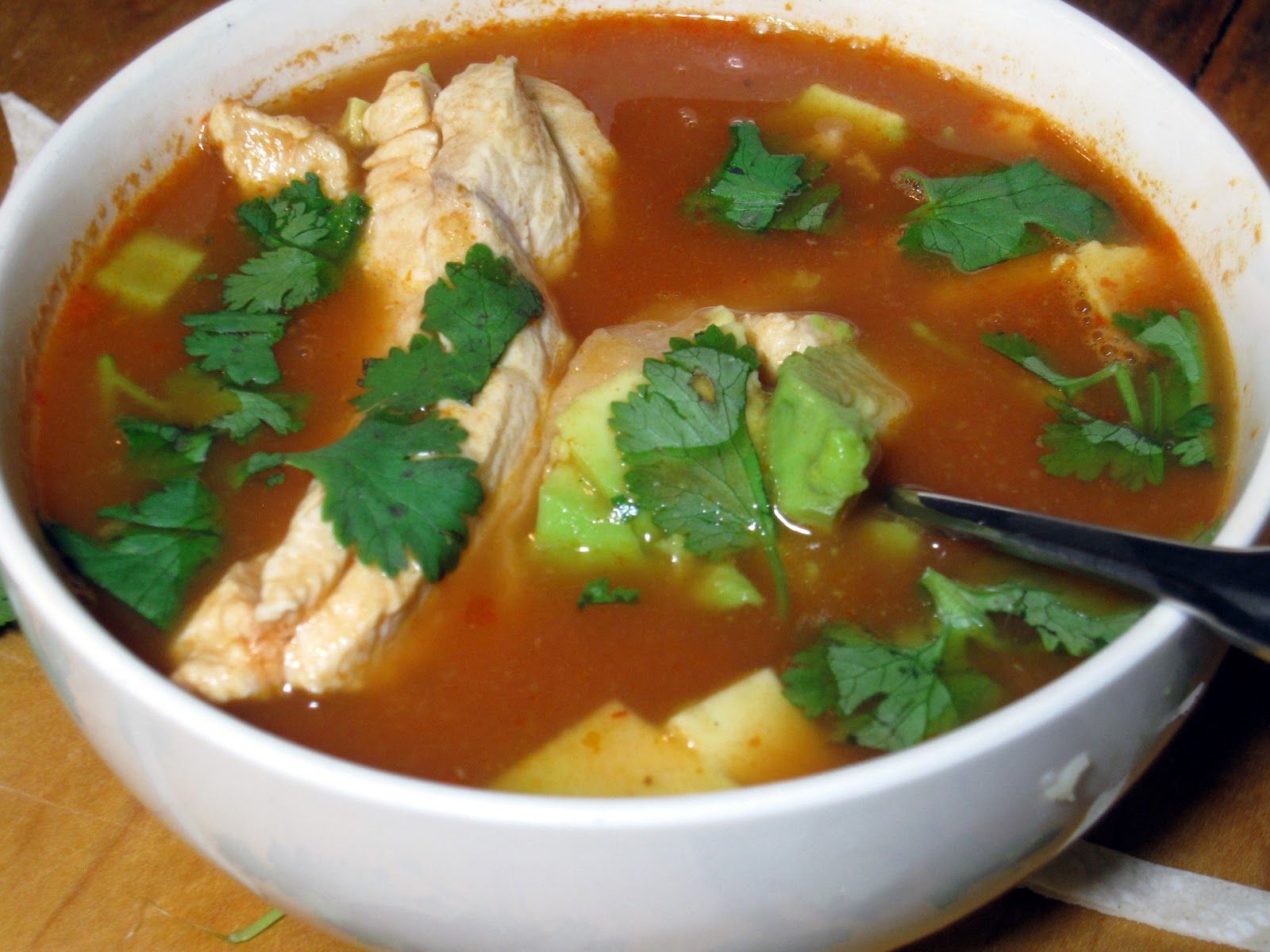 Mexican Tortilla Soup ~ New York Food Journal