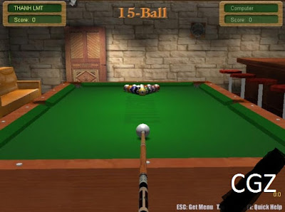 3D Live Pool Full Version