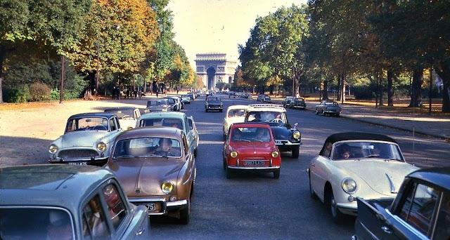 Vajar de carro de Londres a Paris