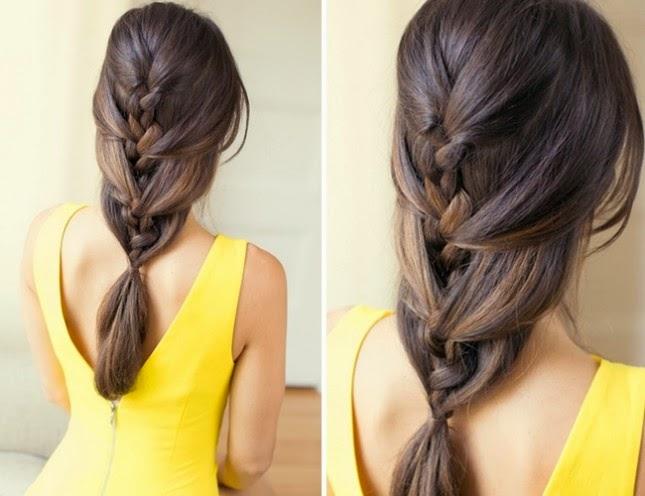5 strand french braid tutorial