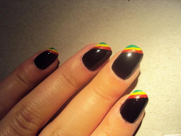 nails math rasta designed