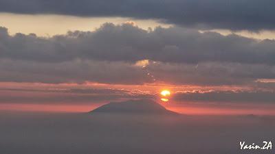 Melihat Mentari pagi dari puncak Merapi