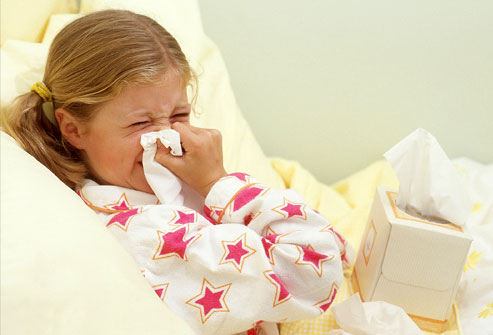 Как ребенку с рождения вылечить насморк