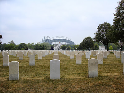 john henry gauslin wood national cemetery milwaukee wisconsin miller park