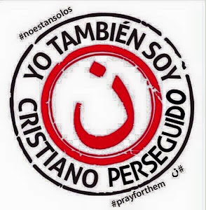 #YoTambiénSoyCristianoPerseguido