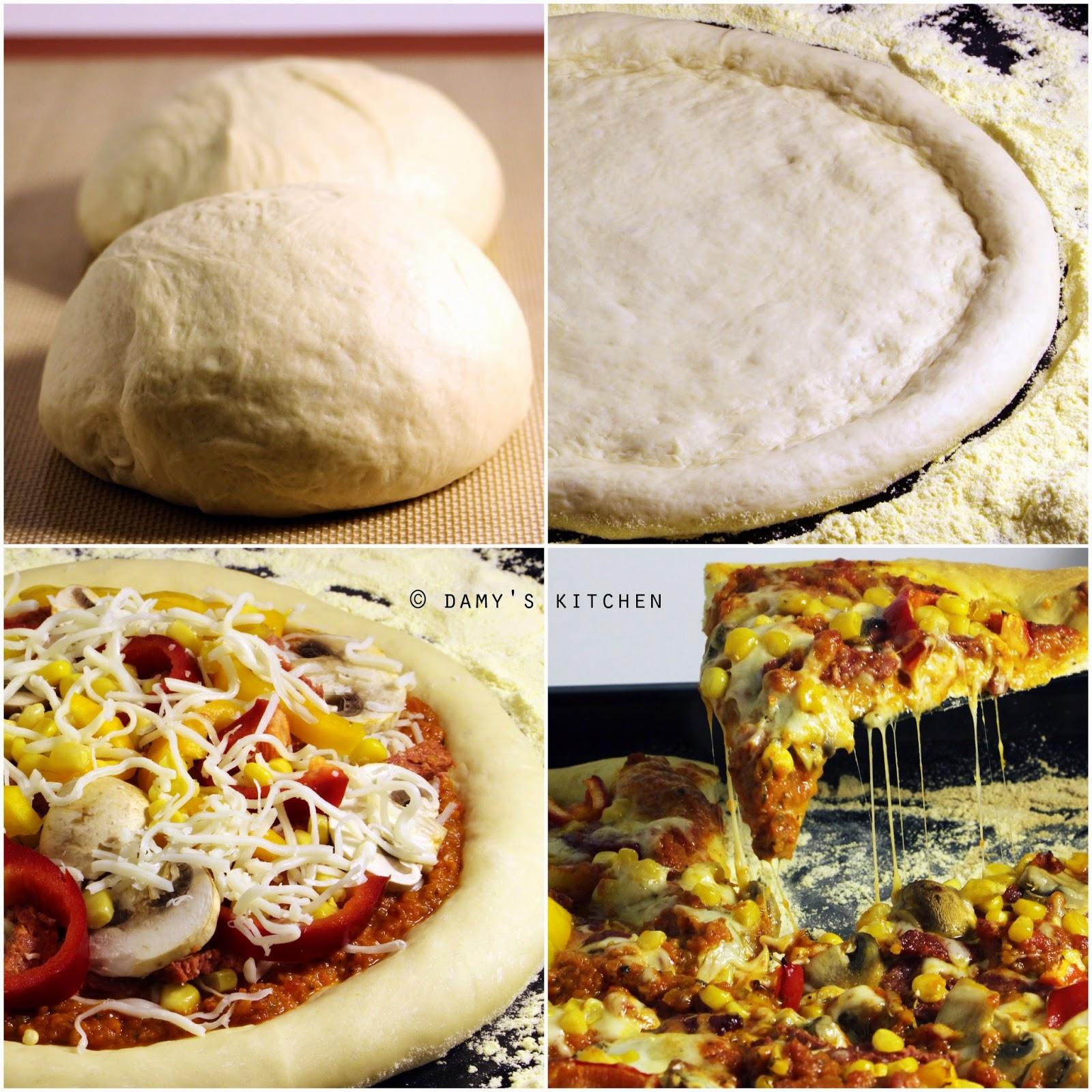 Ev Yapımı Pizza Pizza Hamuru
