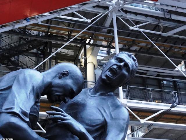 Zinedine Zidane headbutt statue