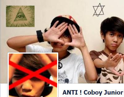 Coboy+Junior+Illuminati Foto Coboy Junior Bergaya Illuminati