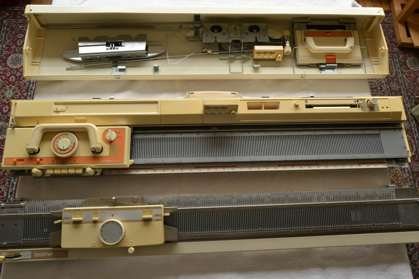 Double Bed Knitting Machine Brother