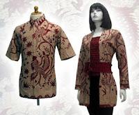 baju batik solo asli