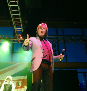 IN PERFORMANCE: Herman's Hermits starring Peter Noone at ArtsQuest at SteelStacks, Bethlehem, PA [Photo from 2014 by the author]