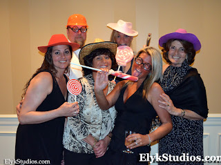 Recent Wedding Reception - Wilmington, DE. Silly Photo Booth by Elyk Studios