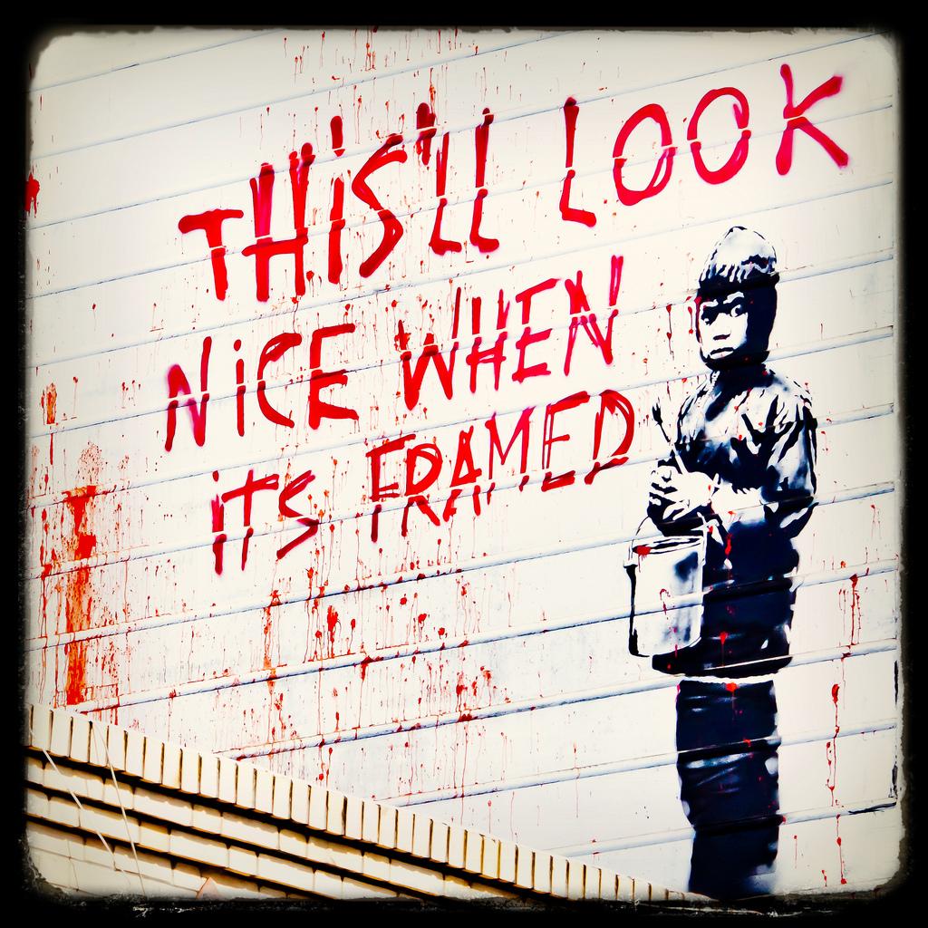 10 Banksy Wallpapers | Sneakhype