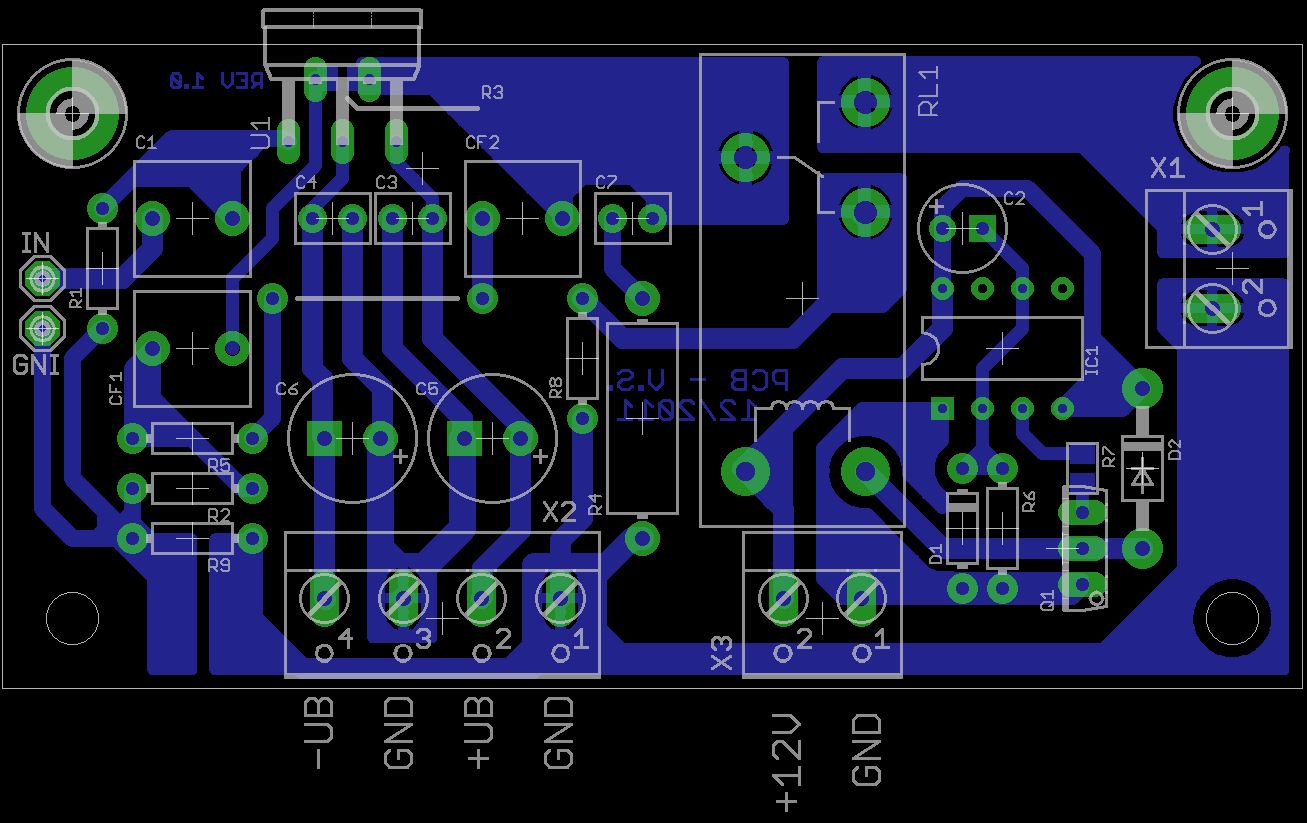 I m Yahica  12v Audio    Amplifier       Circuit