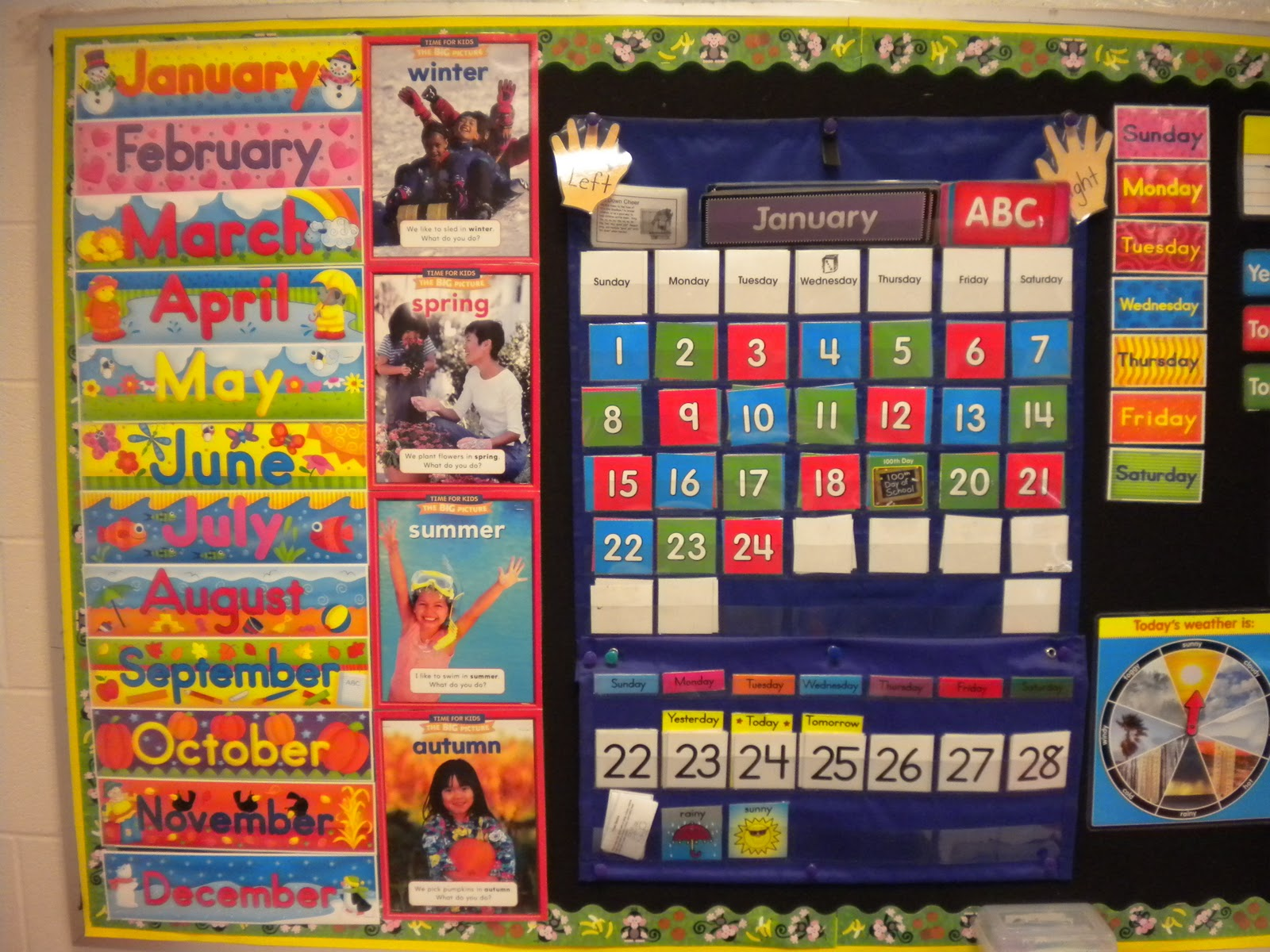 Kindergarten Calendar Time Routine : Counting on calendar kreative in life