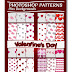 Photoshop Valentine's Day Patterns plus Backgrounds